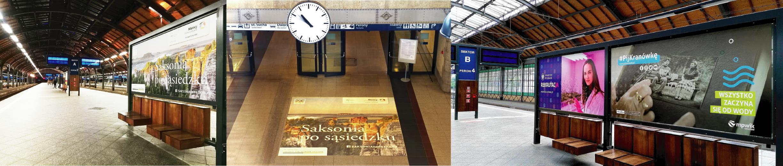 Kampanie reklamowe OOH, DOOH na dworcach kolejowych i autobusowych
