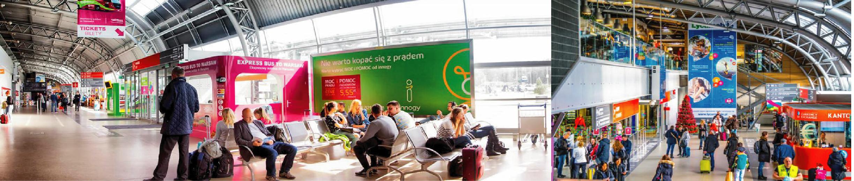 Kampanie reklamowe OOH, DOOH na lotniskach w Polsce i Europie
